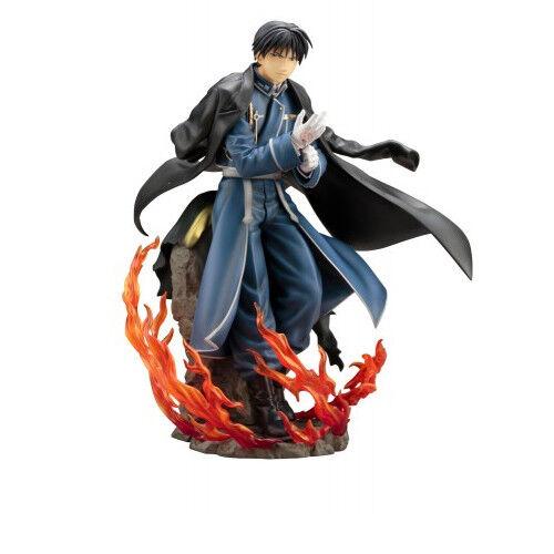Fullmetal Alchemist Brojoherhood - Roy Mustang Artfx J 1 8 PVC Figura Kotobukiya