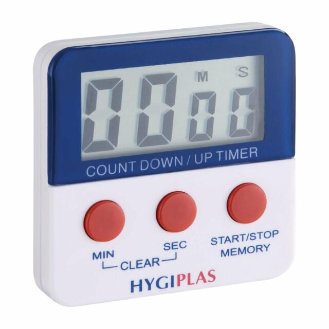Hygiplas Magnetic Countdown Timer | Food Prep Preparation Kitchen