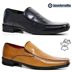 Mens-Lambretta-Leather-Shoes-Smart-Office-Wedding-Dress-Work-Formal-Party-Shoes