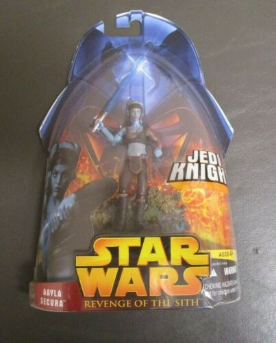 Aayla Secura Jedi Knight 2005 Star Wars Revenge of the Sith revenge of the Sith Comme neuf on Card #32