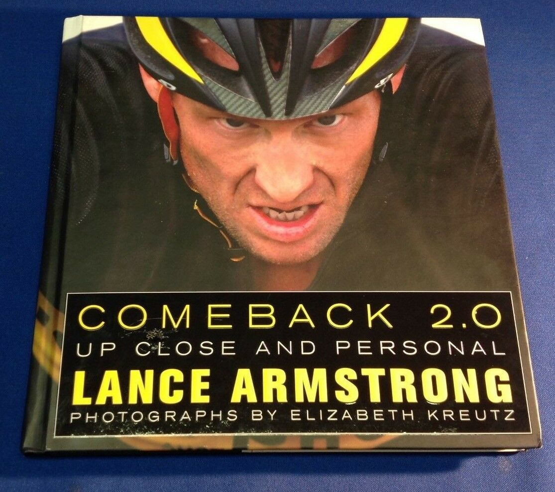 Lance Armstrong signed Comeback 2.0 Book PSA/DNA LOA # S06118