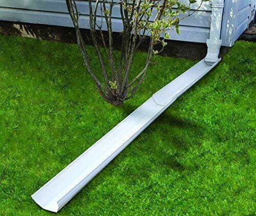 Frost King GWS3W Tilt N/' Drain Downspout Extender Extends To 6/' 3/' Long