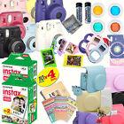 Fujifilm Instax Mini 8 Instant Camera w/ 40 Instant Films MASSIVE BUNDLE 35+pcs