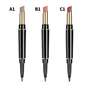 Waterproof-Super-Stay-24-Hour-8-Colors-2-in-1-Double-Lipstick-Matte-Lip-Liner