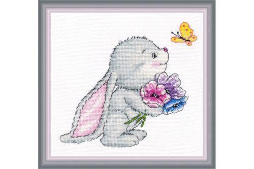 Cross Stitch Kit Rabbit art 980