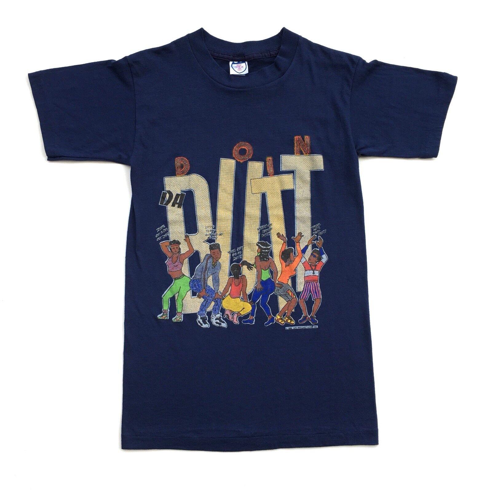Vintage 1988 Doin Da Butt Shirt Small Rap Hip Hop 80's Art Production