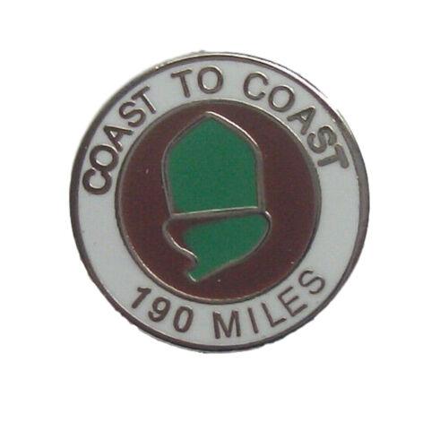 Coast To Coast Quality Enamel Lapel Pin Badge