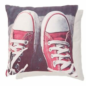New-Clayre-amp-eef-Red-Chocks-Pillowcase-Pillow-Cover-Shabby-Chic-Trainers