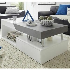 Modern Extending Storage Coffee Table