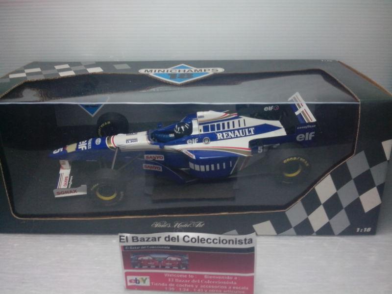 1 18 F1  Williams Renault FW18 Damon Hill 1996 WORLD CHAMPION - 3L 050