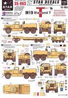 Star Decals 1/35 M19 Diamond T Tank Transporter Part 1 Western Desert