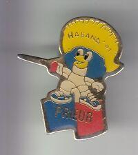 RARE PINS PIN'S .. SPORT ESCRIME FASHION EQUIPEMENT PRIEUR COQ HABAND 1991 ~C4