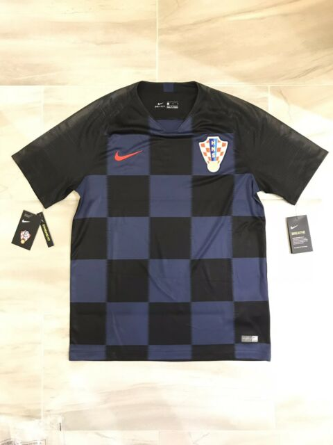 0100336deb2 Men s Nike 2018 World Cup Croatia Away Jersey 893864-010 2018 Size Medium