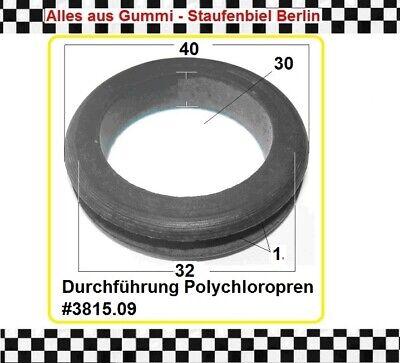 1x Gummitülle Kabeldurchführung Kabelschutz Gummiformteil Durchführung 3816.12