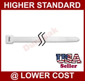 "100 PCS 32"" Natural Cable Wire Ties 165 Lbs Zip Tie Fasten Heavy Duty Industrial"