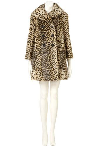 Print Coat Petite taglia donna da Donna 6 Faux Leopard Fur Uk Bnwt Topshop Giacca 4qCwzz8