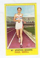 figurina PANINI CAMPIONI DELLO SPORT 1970-71 N. 40 ATLTICA LEGG. NIHILL