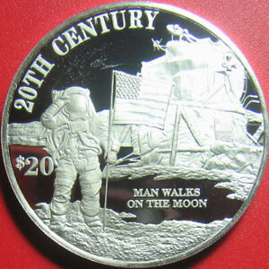 1997-COOK-ISLANDS-20-SILVER-PROOF-NEIL-ARMSTRONG-SPACE-MOON-ASTRONAUT-US-FLAG