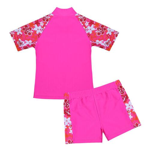 Sun Protection Surfing Bathing Swimwear Swimming Costume Kids Girls Boys UV 50