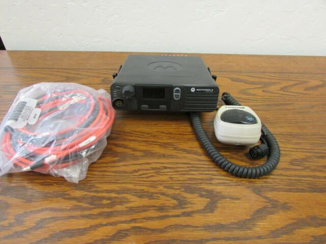 Motorola XPR4350 DMR VHF 136-174mhz 45w mobile radio W/GPS and Trunking TDMA
