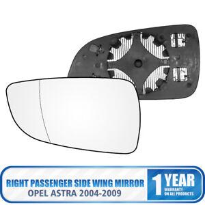 Specchietto-Retrovisore-Riscaldato-Vetro-lato-destro-OPEL-Astra-H-Mk5-04-09