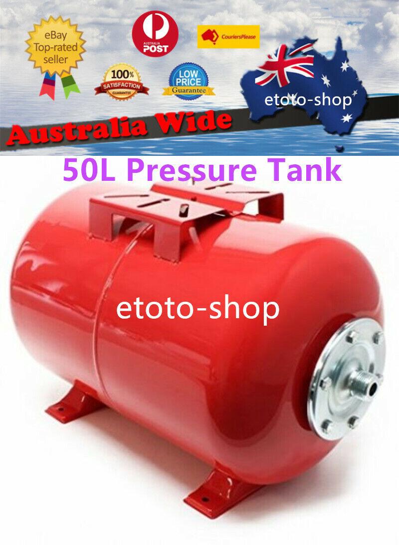Heavy Duty Water Pressure Tank 50 Litre - Suit Water Pumps