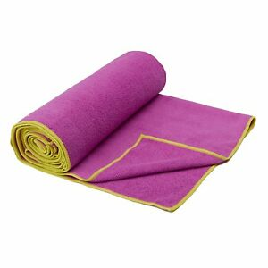 Details About Gaiam Yoga Mat Towel Microfiber Yoga Mat And Hand Sized Towels For All Types