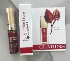 7f1beea09418c Clarins Instant Light Lip Comfort Oil Shade 03 Red Berry 7ml & Boxed ...
