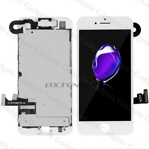 DISPLAY-LCD-TOUCH-SCREEN-IPHONE-7-COMPLETO-FOTOCAMERA-ALTOPARLANTE-BIANCO