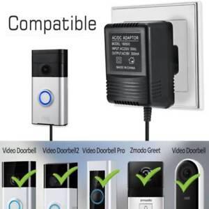 for video ring doorbell power supply adapter transformer 9w 5m easy
