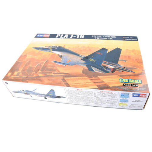 Trumpeter assembled aircraft 81748 Chinese Air Force J-16 fighter 1//48