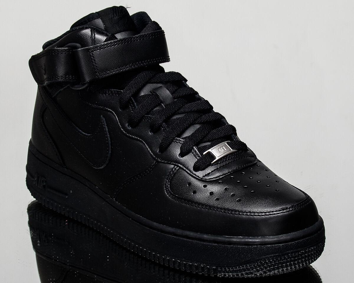 nike air force 1 mitte 07, sneaker schwarze männer - lifestyle sneaker 07, neue 315123-001 af1 2e354d