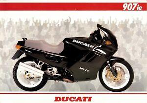 Capable Prospectus Ducati 907 Ie