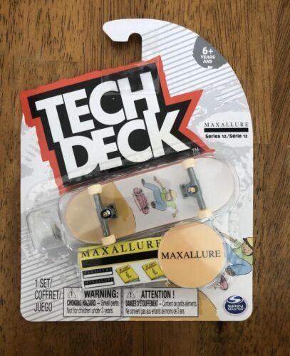 Tech Deck maxallure Skateboards touche rare série 12 étamines additionnelles navire gratuit