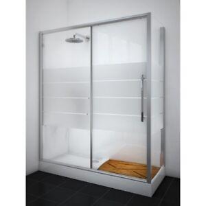 Vasche Da Bagno E Box Doccia.Kit Sostituzione Vasca Da Bagno Con Piatto Doccia E Box Doccia 170 X