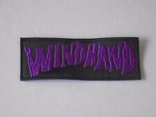 WINDHAND STONER/DOOM METAL EMBROIDERED PATCH