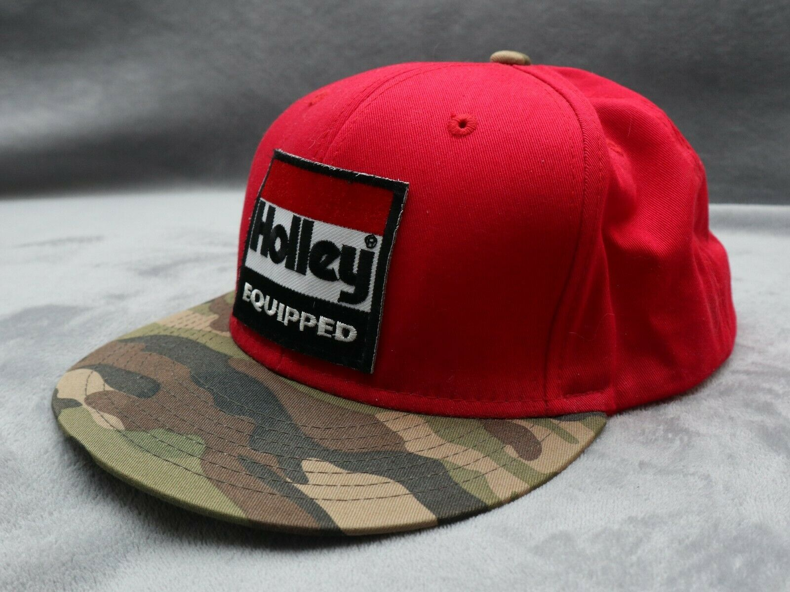 Holley Equipped red camo snapback - image 3