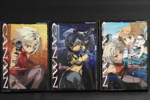 Canaan Manga 1~3 Set Akira Ishida Type-Moon Japan book
