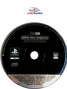 Colony-Wars-Vengeance-Promo-Psx-PS1-PLAYSTATION-Videojuego-Videogame-Retro-Mint