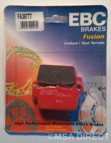 EBC Carbon REAR Disc Brake Pads (1 Set) Fits YAMAHA WR250R (2008 to 2018)
