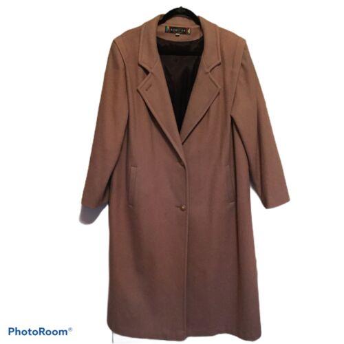 Stunning Vintage Long Wool Pea Coat  Princess  Long Swing Coat by Komitor