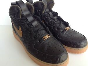the best attitude 5a026 71d61 Image is loading NIKE-AIR-FORCE-1-MID-PRM-LEATHER-PENDLETON-