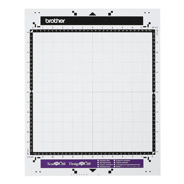 Brother Scan N Cut or Design N Cut STANDARD MAT 12x12 Adhesive Mat