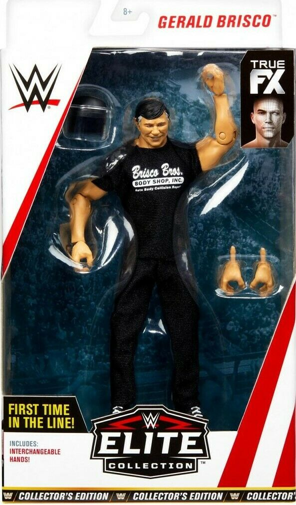WWE Mattel Elite Exclusive Exclusive Exclusive Collectors Edition Gerald Brisco Figure ee8