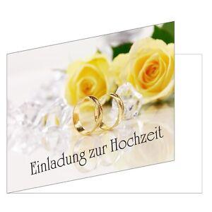 25 Stuck Einladungskarten Zur Hochzeit Din A6 Einladungen Ringe
