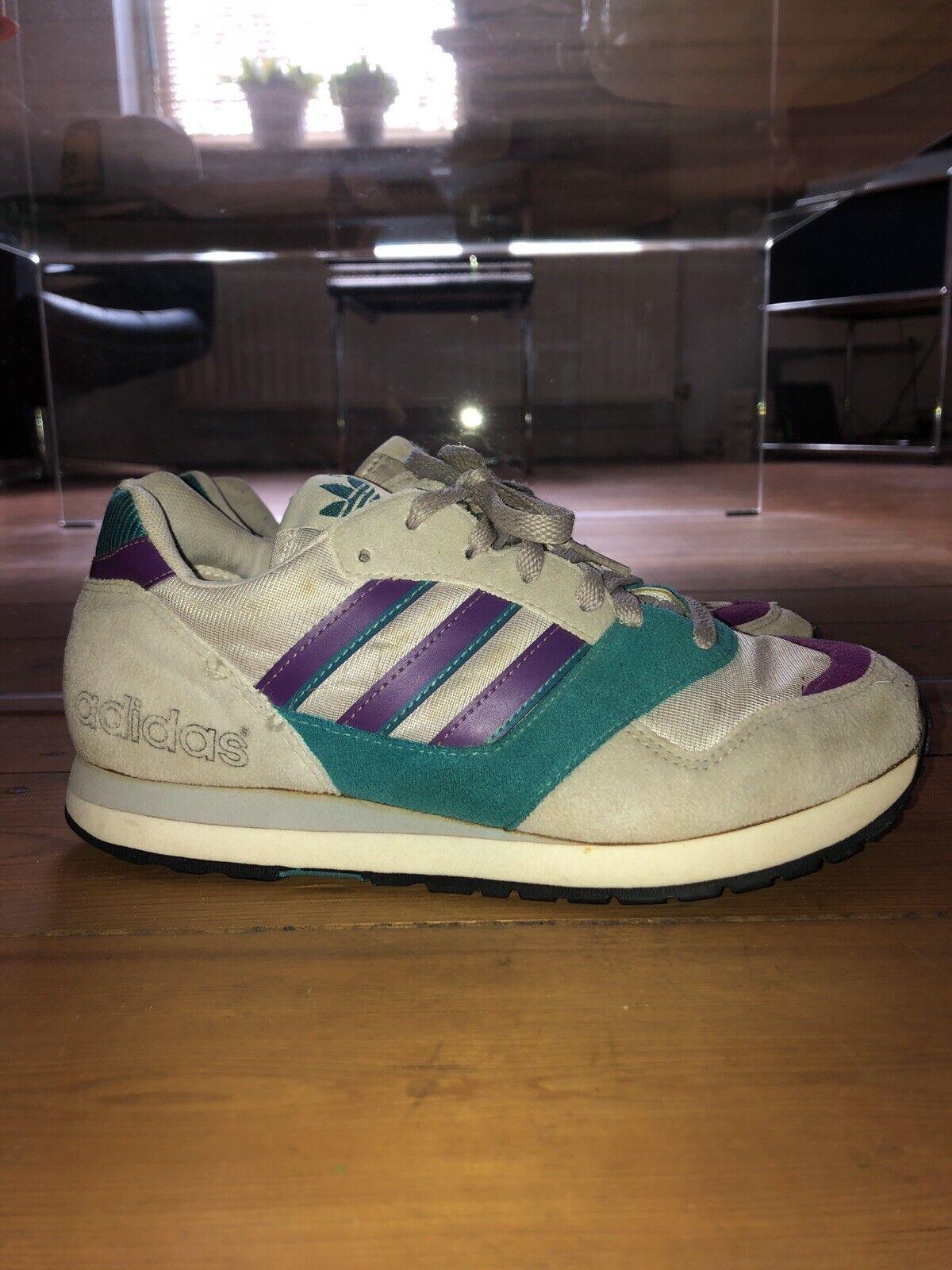 Vintage Adidas Quasar Size 39 1 3 UK 6 Size Good Condition 1991