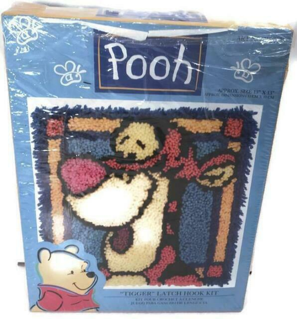 Best Friend Winnie the Pooh Latch Hook Kit