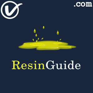 ResinGuide-com-PREMIUM-Resin-And-Cannabis-Theme-COM-Domain-Name
