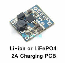 3.6V/4.2V 2A Charger Module 3.7V 18650 Lithium 3.2V LiFePO4 Battery Charging PCB