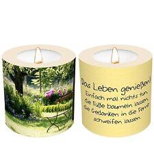 Eine Kerze für Dich - Das Leben geniessen + PartyLite Teelicht GRATIS